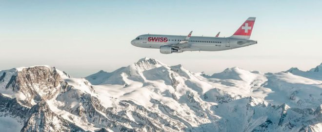 Foto: Swiss. Die Fluggesellschaft Swiss hat 2018 einen Rekordgewinn erzielt.
