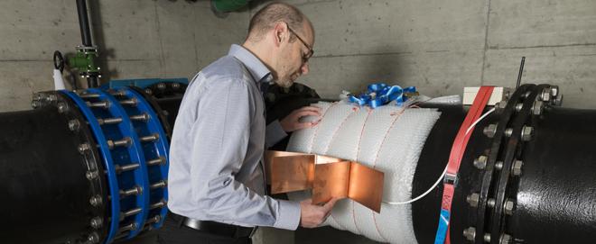Foto: ZHAW; Die Sensorlösung der Forscher kann sich selbst mit Energie versorgen.