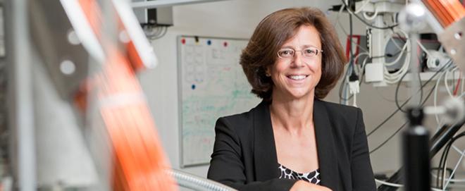 Foto: ETH Zürich/Tom Kawara; Frau Professor Dr. Ursula Keller.