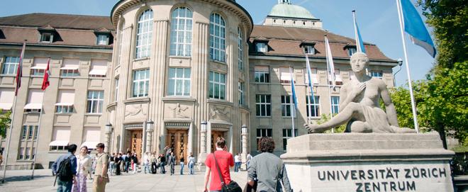 Foto: Universität Zürich, Frank Brüderli; Die Universität Zürich konnte sich im Reuters-Ranking um vier Plätze verbessern.