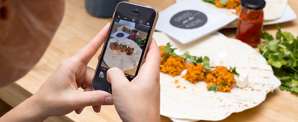 Foto: Marco Verch/flickr, Creative Commons; Die App EisenCoach ermöglicht eine einfache Essenserfassung per Foto.