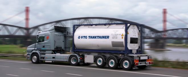 Foto: VTG; Das Logistikunternehmen VTG lässt seine Tankcontainer mit Nexxiot-Sensoren ausstatten.