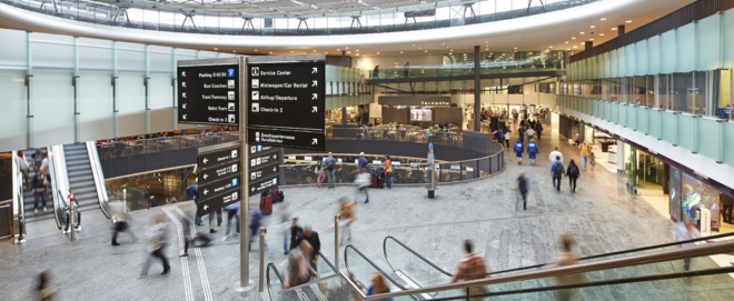 Bild: Flughafen Zürich; Zum vierten Mal ist der Flughafen Zürich der beste Flughafen Europas in seiner Kategorie.