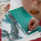 Bild: Schlossberg Switzerland via HSLU; Studierende der HLSU haben im Rahmen eines Designs für die Bettwäsche-Kollektion von Schlossberg Switzerland entworfen.