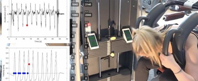 Bild: Ausschnitt aus einem Video der ETH Zürich; Bei ihrer Methode nutzen die Forscher die Beschleunigungssensoren in gängigen Mobiltelefonen.