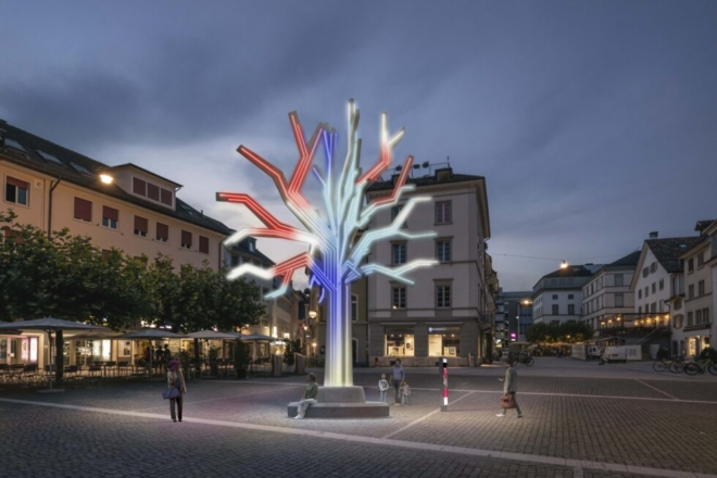 Bild: Digital Winterthur; DigitalTag Baum Neumarkt, Winterthur