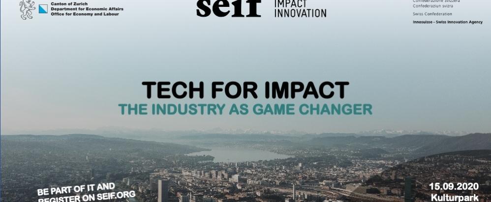 Bild: seif; Flyer Tech for Impact