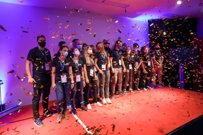 Bild: Entrepreneur Club Winterthur; Event mit Maske: ein voller Erfolg