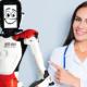 Bild: zVg/Spitch AG; Der Roboter Joey soll in Spitäler und Pflegeheimen helfen.