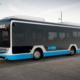Bild: zVg; Umweltfreundlicher Elektrobus des Herstellerse Caetano.