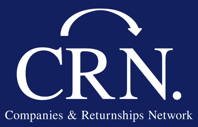 Bild: CRN; Logo Companies & Returnships Network