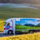 Bild: zVg/Emmi; Emmi testet Wasserstofflastwagen in der Logistik.