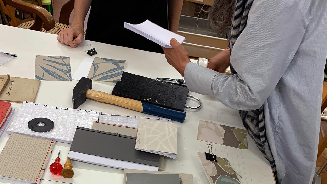 Bild: Made in Zurich Initiative; Tag der urbanen Produktion - Notizbuchdesign