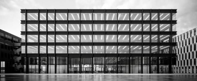 Visualisierung: ETH Zürich; Das neue Forschungslabor bietet Platz für 18 Professoren und 500 Mitarbeitende; sein Kernstück mit den Forschungsplattformen ist unterirdisch gegen äussere Störungen abgesichert.
