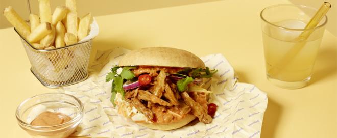 Bild: zVg/Planted; Planted lanciert eine vegane Version des Barbecue-Gerichts Pulled Pork.