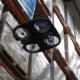 Bild: DSV/Video; Die Drohne von Verity wird im Lagerhaus von DSV getestet.