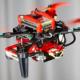 Bild: UZH; Wenn ein Rotor ausfällt, fängt die Drohne an, sich wie eine Ballerina um sich selbst zu drehen.