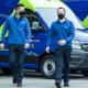 Bild: Selina Meier/zVg, Lyreco; Lyreco nimmt zwei elektrische Lieferwagen in Betrieb.
