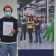 Bild: zVg/Industrie- und Handelsverein Dietikon; Der Industrie- und Handelsverein Dietikon hat drei Studierende der sfb Höheren Fachschule für Technologie und Management ausgezeichnet.