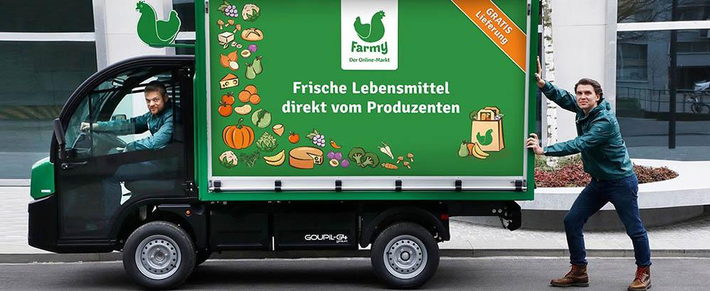 Bild: zVg/Farmy; Der Online-Markt Farmy hat sein bisher erfolgreichstes Jahr abgeschlossen.