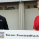 Bild: Injex AG; Die Injex-Gründer Oliver Schlatter und Tobias Ammann (von links) haben die sechs Jahrzehnte alte Torson Kunststofftechnik übernommen.
