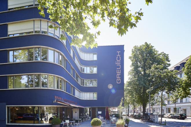 Bild: Mark Niedermann; Fassade Hotel Greulich