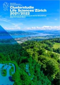 Bild: Volkwirtschaftsdirektion; Titelseite Clusterstudie Life Sciences Zürich 2021/2022
