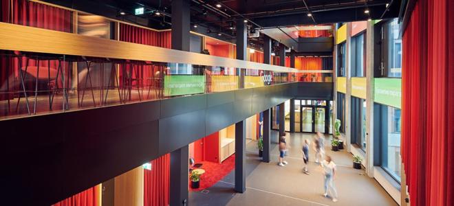 Bild: Google Schweiz; Der Hauptsitz von Google in der Europaallee wurde 2019 eröffnet.