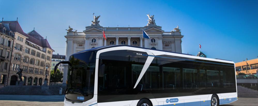 Bild: VBZ; VBZ-Rendering Elektro-Standardbus