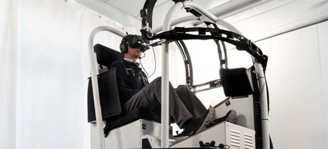 Bild: VRM Switzerland; Der Flugsimulator von VRM Switzerland wird neu auch von Colorado Highland Helicopters eingesetzt.
