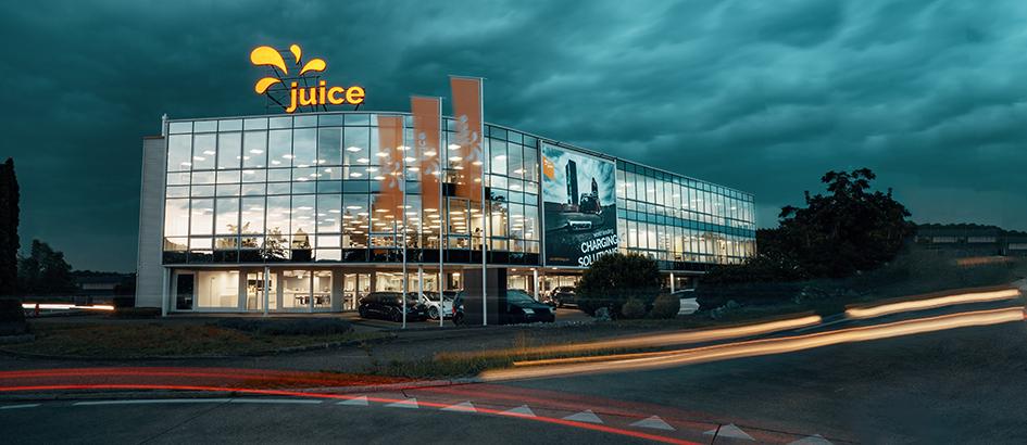 Bild: Juice Technology; Der neue Hauptsitz von Juice Technology befindet sich in Bachenbülach.