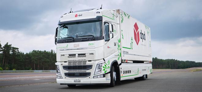 Bild: Designwerk Products AG; Der Stromlastwagen von Futuricum hat es in das Guiness-Buch der Weltrekorde geschafft.