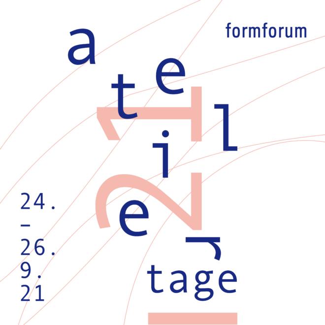 Bild: formforum; Flyer Ateliertage