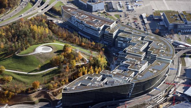 Bild_ The Circle; Erstmals findet das Wirtschaftsforum der FRZ im Circle, Flughafen Zürich, statt.